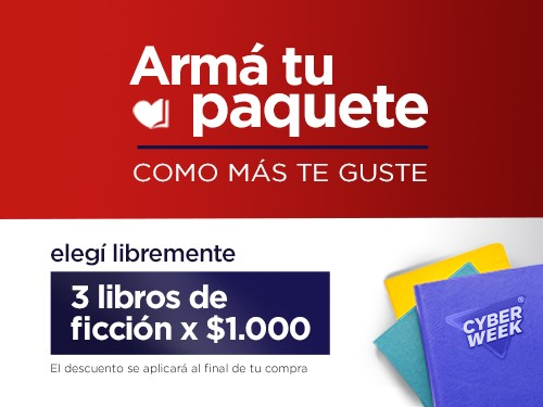 LIROS 3x$1.000 - ARMÁ TU OFERTA COMO PREFIERAS-
