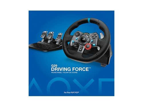 Volante Y Pedalera Logitech G29 Racing Ps3 Ps4 Driving Force