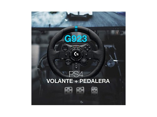 Volante Y Pedalera Logitech G923 Ps5 Ps4 Y Pc Carreras