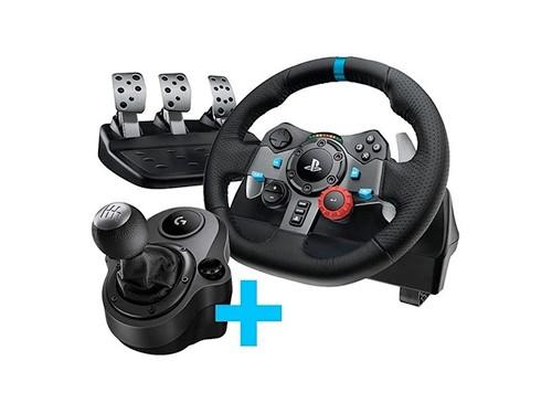 Volante Logitech G29 Gamer + Pedalera + Palanca Pc Ps3 Ps4