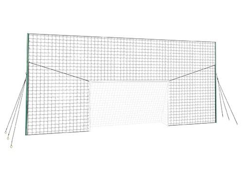 Arco de futbol con red de rebote Opengoaaal
