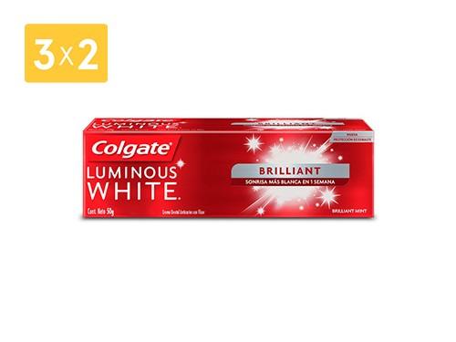 COLGATE CREMA LUMINOUS WHITE BRILLANT 50 GR