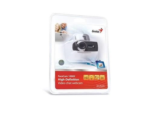 Camara Web Cam Genius 1000x V2 Hd 720p Usb Microfono Zoom 3x