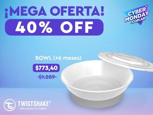 Bowl Twistshake 6+meses