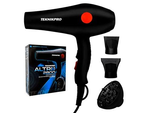 Secador de Pelo Profesional Altro 2800 Exclusive Teknikpro 1800w