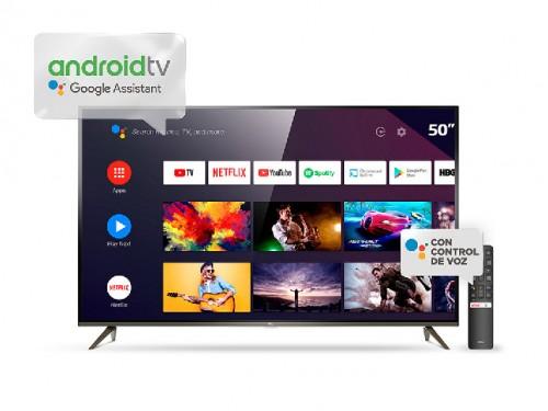 "Televisor LED 50"" 4K plano Android  TCL"
