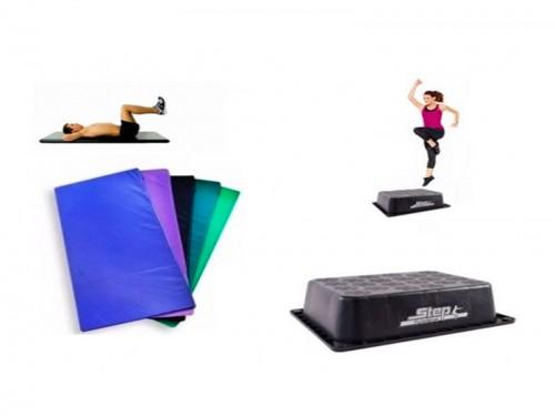 Set Gym. Colchoneta + Step