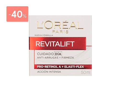 LOREAL CREMA REVITALIFT ANTIARRUGAS DE DIA 50ML