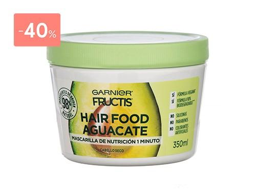 FRUCTIS HAIR FOOD MASCARILLA AGUACATE 350 ML