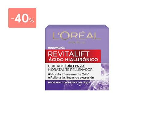 LOREAL DERMO EXPERTISE REVITALIFT DIA ACIDO HIALURONICO 50 ML