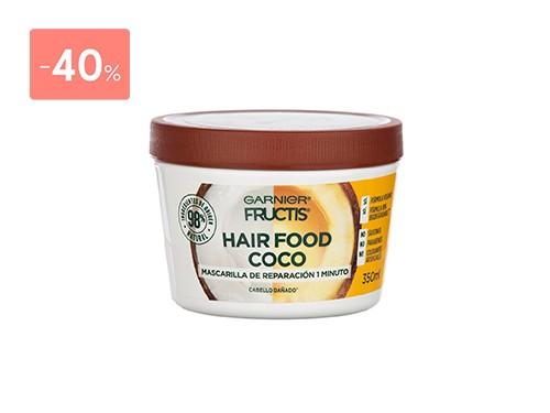 FRUCTIS HAIR FOOD MASCARILLA COCO 350 ML