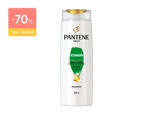 PANTENE SHAMPOO RESTAURACIÓN 400 ML