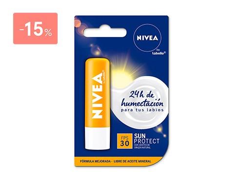 NIVEA PROTECTOR LABIAL SUN CON FPS30 4.8 GR