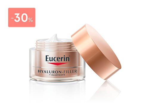 EUCERIN HYALURON-FILLER +ELASTICITY CREMA NOCHE 50ML