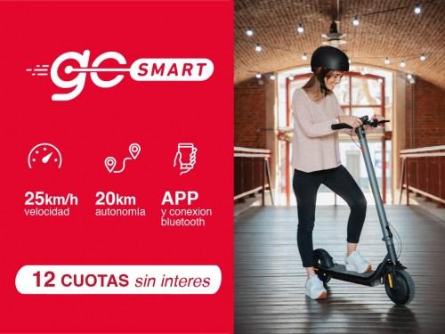 Monopatin eléctrico GoSmart X1 - Diseño y Autonomía