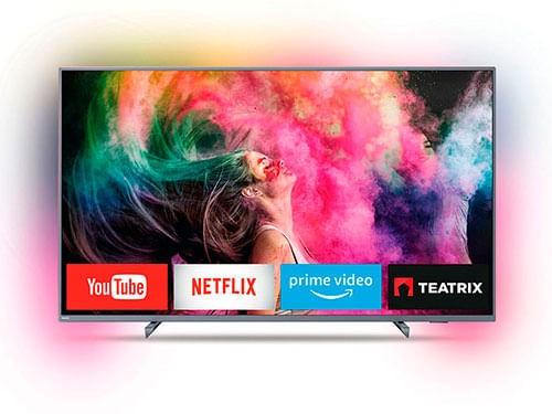 "Smart Tv Philips 65pud6794 Ambilight 4k 65"""