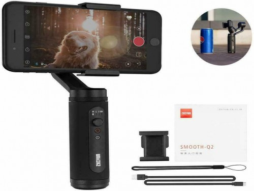 Estabilizador Gimbal Smooth Q2 para celulares 3 Ejes Zhiyun Tech