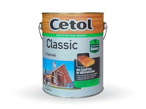 Impregnante para madera al agua Cetol Classic Balance Satinado 4 lts