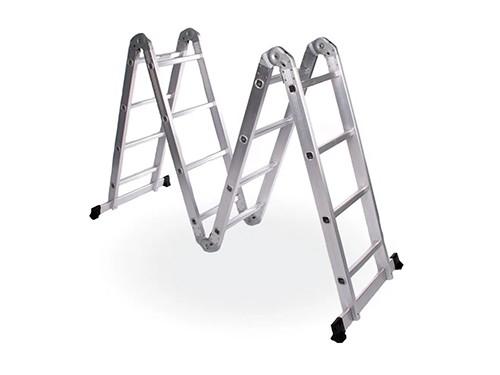 Escalera articulada multifunción de aluminio 16 escalones