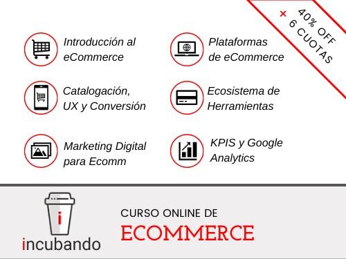 Curso Online de ECOMMERCE  ⭐️40% OFF + 6 cuotas s/interés ⭐️