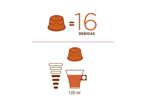 Cafe En Cápsula Nescafé Dolce Gusto Lungo 16 Un
