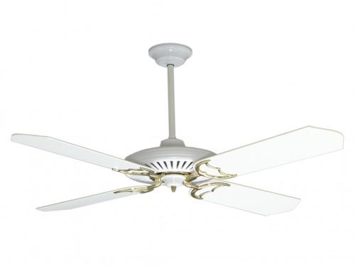 Ventilador Techo Blanco - PALAS MADERA - V1B Codini