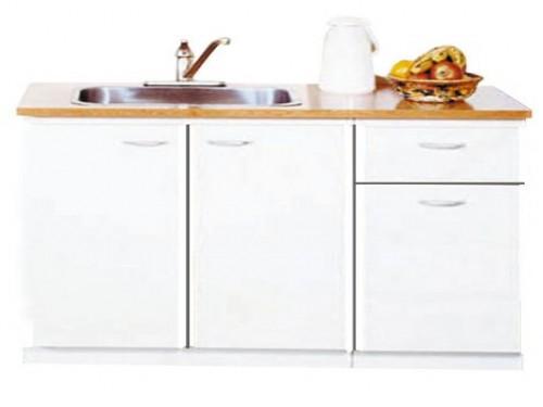 Bajo Mesada Platinum 3005 Blanco 1,20 Mueble Cocina 91-76