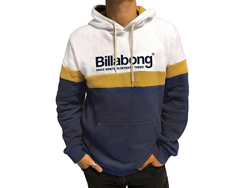 Buzo canguro hombre Billabong frisa liviana modelo Milton Solid Hood