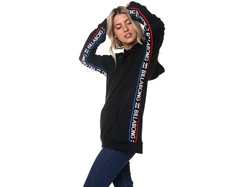 Buzo canguro mujer Billabong frisa liviana modelo Sporty Club