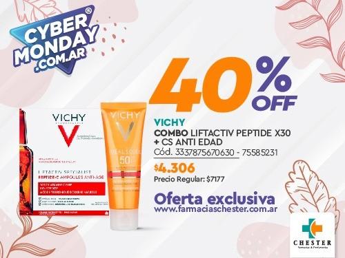 VICHY COMBO LIFTACTIV PEPTIDE X30 + CS ANTI EDAD