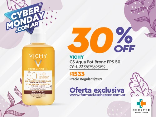 VICHY CS Agua Pot Bronc FPS 50