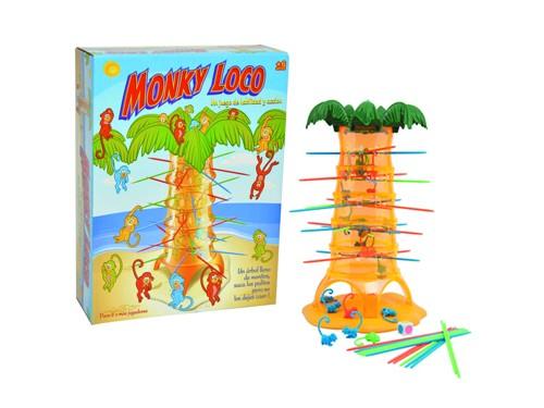 Juego De Mesa Monky Loco Original Ditoys
