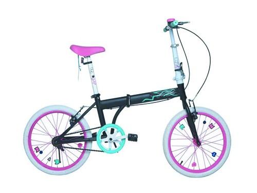 Bicicleta Bia Rodado 20 Plegable Cuadro Para Adultos Disney Original