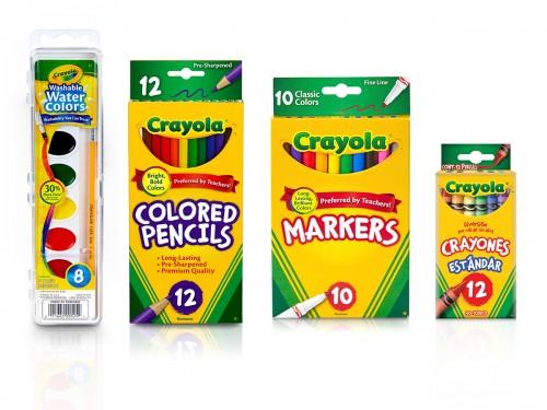 Kit Crayola Art Fan x 35 piezas