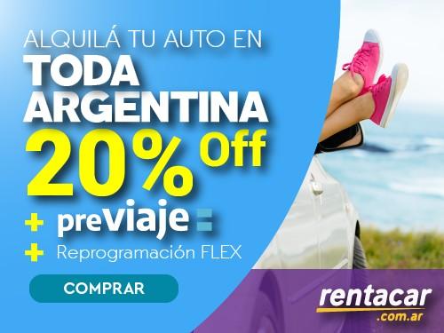 Alquiler de Autos en Toda Argentina