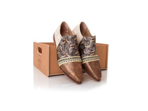 Zapato bajo Tola combinado , Rocas