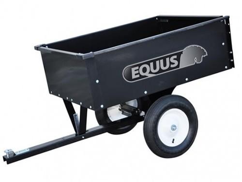 Mini Trailer Para Cuatriciclo O Mini Tractor. Volcador Equus