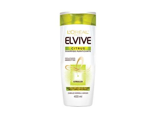 Shampoo Citrus Elvive Loreal Paris X 400 Ml
