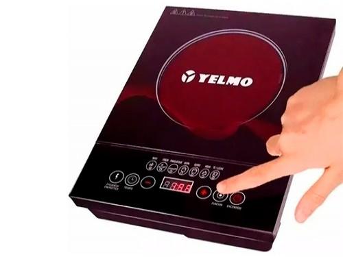 Anafe Electrico Yelmo Vitroceramico 1 Hornalla Tactil Touch