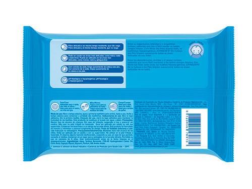 Toallitas Humedas Pies A Cabeza/Azul Johnson´s  44un - Llevá 3x2