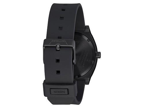 Reloj analógico NIXON Modelo Time Teller All Black Línea Metallica