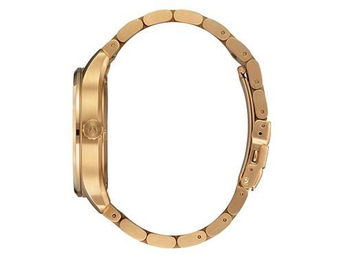 Reloj analógico NIXON Modelo Patrol Gold / Black