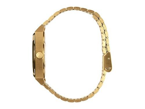 Reloj analógico NIXON Modelo Time Teller Gold/White
