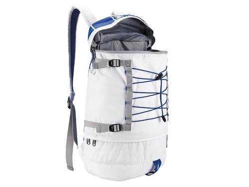 Mochila blanca NIXON Modelo Drum Backpack línea Star Wars