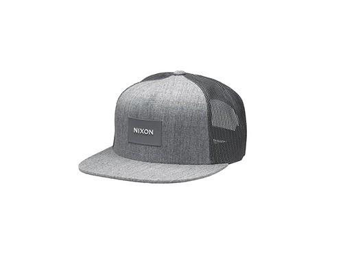Gorra gris hombre NIXON Modelo Team Trucker