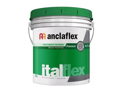 REVESTIMIENTO ANCLAFLEX ITALFLEX BLANCO FINO 30 KILOS