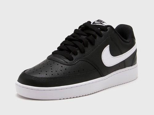 Zapatilla Negra Nike Court Vision Lo