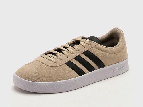 Zapatilla Beige Adidas VL Court 2.0