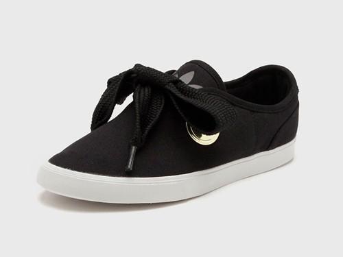 Zapatilla Negra Adidas Originals Sleek Lo