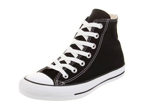 Zapatilla Negra Converse Chuck Taylor All Star Core HI